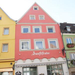 Fassadenneugestaltung der Gaststätte Zunftstube in Kulmbach